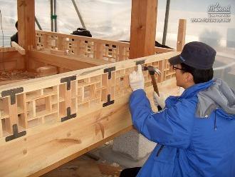전통건축을 배우는 대목반