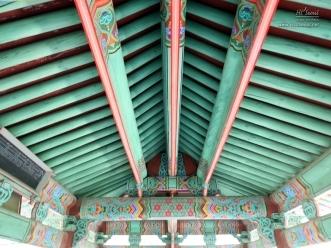 창의문 우진각 지붕 모습