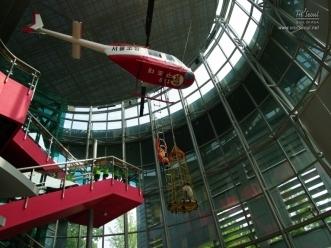 헬기를 이용한 구조구난체험