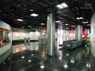 서울시민 광나루안전체험관 체험관 내부 전경