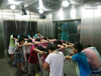 서울시민 광나루안전체험관 풍수해체험실
