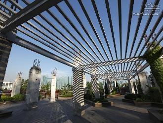 방문자센터 옥상에 있는 하늘정원