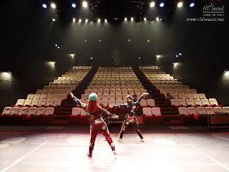 283석 규모의 퍼포먼스홀. 뮤지컬, 오페라 등의 복합공연