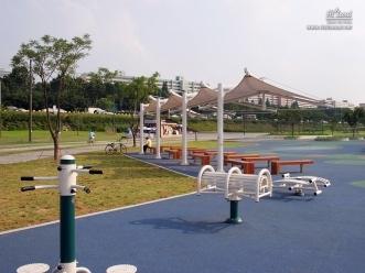 반포 한강공원 운동 시설
