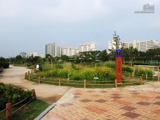 잠원 한강공원 자연 학습장의 전경