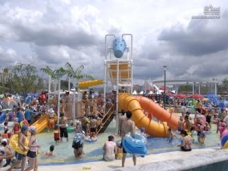 어린이들의 신나는 여름 놀이 공간