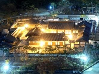 서울남산국악당 야경