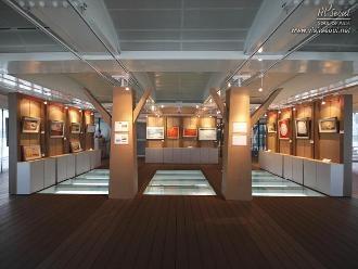 미술, 공예 전시 등이 열리는 전시장 전경