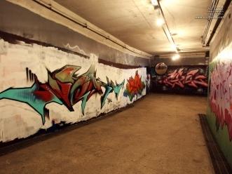 잠원 지구에 있는 그래피티 벽화