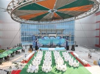 아이파크몰의 중심인 이벤트 파크