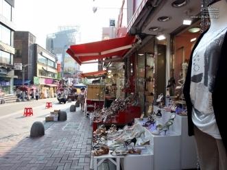 이대 패션거리 구두 매장들